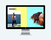 African Lens (website design)