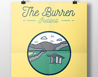 Irish Illustrations - The Burren