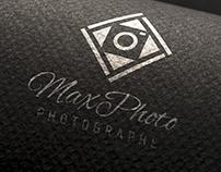 Projet de Logo MaxPhoto