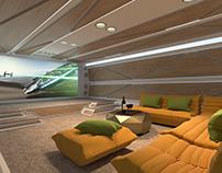 Sci-Fi Residential Interior Design