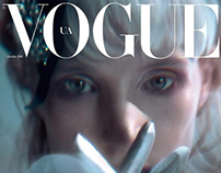 "Jessica Chastain for ""Vogue""-Ukraine"