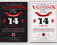 Valentines Day Flyer Template V12