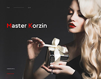 Master korzin - E-commerce, UI/UX