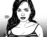 Brunette Sketch