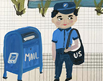 The Mailman Knows Animation
