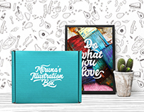 Miruna's Illustration Box - Brand identity