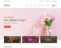 Phuler - Flower eCommerce Bootstrap4 Template