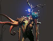 forest swordsman