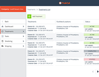 Trakcel Software redesign