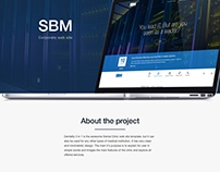 SBM corporate WEB site