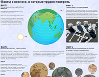 Facts about the space. It's hard to believe in them!