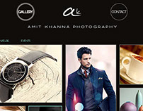 Photography Portfolio UI Design