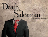 """Poster Design for the play """"Death of a Salesman"""""""