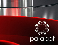 Parapot product design and visual identity.