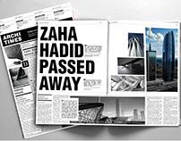 Archi Times | Magazine Design