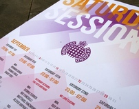 Ministry of Sound - Typographic Poster Entry