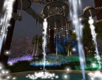 Second LIfe 3D Landscape Design