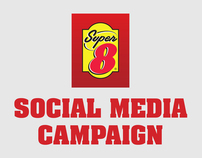 SUPER 8 // Social Media & Digital Campaign