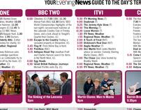 Newspaper TV Listings - Redesign