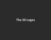The 30 logos.