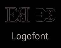 Logofont. Logos, sings, icons from letters