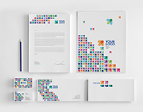 Colorful Modern Arrows Stationery