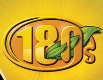 Package & Logo design for 180's - Herbal cigarettes