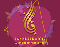 Takhleekar'19 Banner and Posters