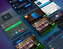 Sales App Concept • PSD Download