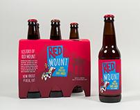 Red Mount Beer Packaging