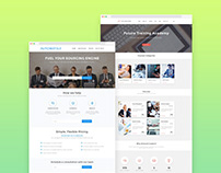 Design of Landing Pages