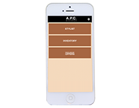 A.P.C. Nouveau HTML5 App