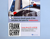 Frank Gehry Poster