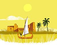 """La historia en dos minutos """"El antiguo Egipto"""""""