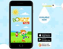 BOKIDZ Tube Branding and UI/UX
