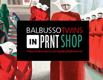 BALBUSSO TWINS FINE ART PRINTS COLLECTION