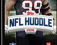 Topps NFL Huddle — 2015/2016 Redesign