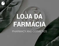 Loja da Farmácia // E-commerce Website