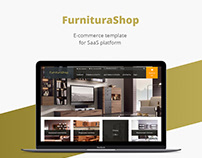 Furnitura shop/E-commerce template/Web design/UI/UX