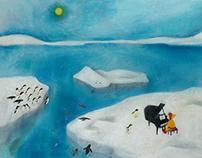 Penguin record jacket Exhibition