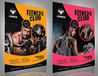 Gym & Fitness Flyer - Vol5