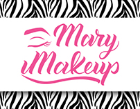 Mary Makeup - Lettering Logo & Brand