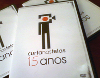 """Design Project for """"Curta nas Telas"""" DVD"""