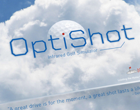 OptiShot Golf Simulator Packaging