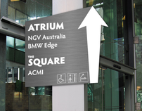 Federation Square Wayfinding