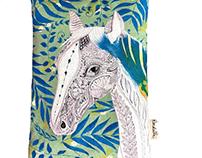 Product Design - Horse Organic Wheat Bag
