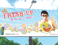FRESH-UP Ad Campaign