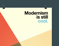 Modernism is still cool. - [POSTER]