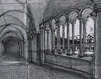 Drawings in Rome