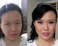 Before & After - Beauty make up 2012